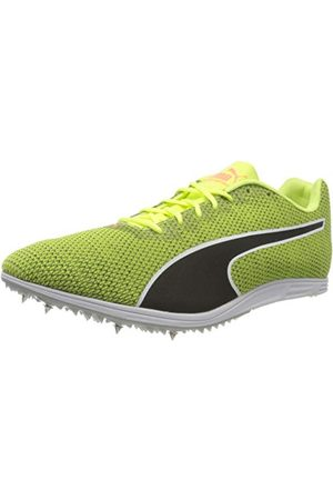 PUMA Herr Evospeed distans 8 sportskor, Yellow Fizzy Yellow Black 04-8.5 UK
