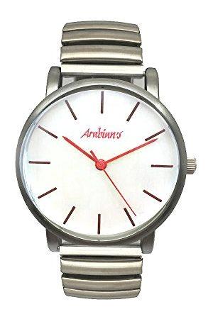 Arabians Herr analog kvartsklocka med rostfritt stålrem DBA2272R
