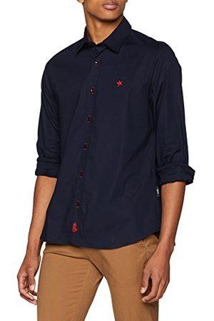 STARLITE Herr 10369 rökelseskjorta, (marin), XL (storlek tillverkare: XL)