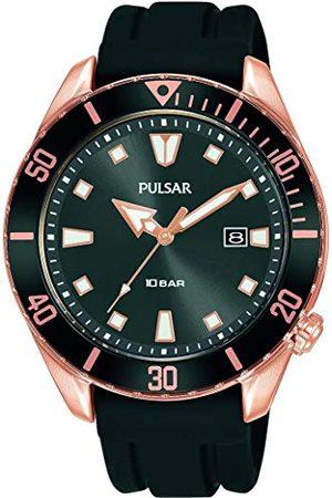 Pulsar Analog kvartsklocka med silikonrem PG8312X1