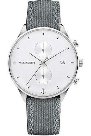 Paul Hewitt Herr kronograf kvartsur med tyg armband PH-C-S-W-51M