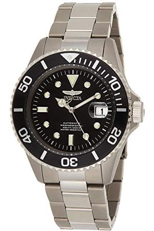 Invicta 0420 Pro Diver herrklocka titan automatisk svart urtavla