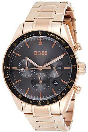 HUGO BOSS Herr kronograf kvartsur med rosguld rem 1513632