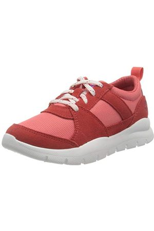 Timberland Unisex barn boroughs Project Mix Oxford (Youth) sneaker, Medium rosa33 EU