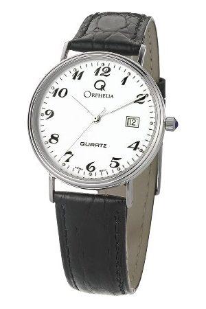 ORPHELIA Herr analog kvartsklocka med läderrem MON-7082