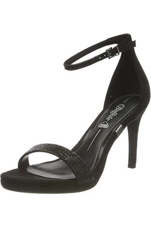 Buffalo Dam Monroe 2 sandaler med klack, svart39 EU