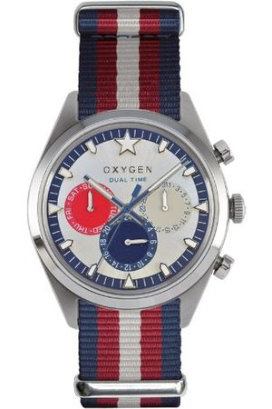 Oxygen Unisex-armbandsur Long Island 40 analog kvarts nylon EX-SDT-LON-40-NN-NAREIV