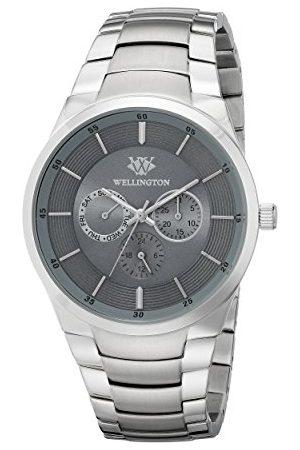 Daniel Wellington Kvartsklocka för män med urtavla analog display och armband i rostfritt stål WN601-191