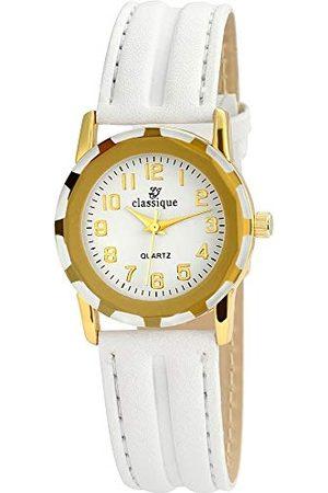 Classique Klassisk herr analog kvartsklocka med läderarmband RP3550200001