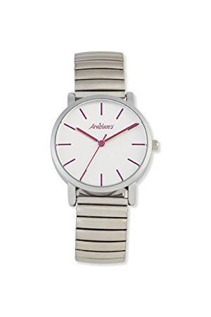 Arabians Herr analog kvartsklocka med rostfritt stålrem DBA2272F
