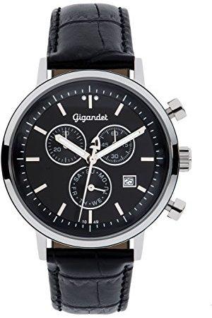 Gigandet G6 – 004 – klocka för män, läderrem