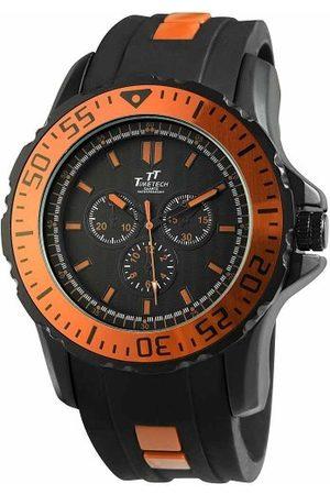 Shaghafi Herr analog kvartsklocka med gummi armband 227475800013