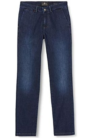 7 for all Mankind Män smal Chino jeans