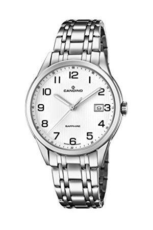 Candino Herr analog klassisk kvartsklocka med rostfritt stålrem C4614/1