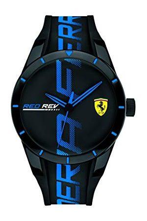 Scuderia Ferrari Herr analog klassisk kvartsklocka med silikonrem 0830616