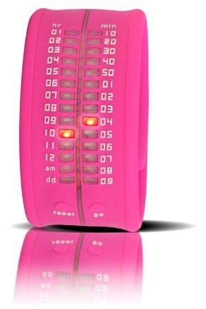 Time-IT Unisex noll rosa digital armbandsur noll A9