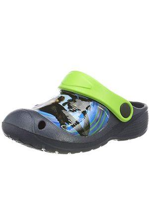 Your dragon Din drake pojkar pojkar barn sandaler och mullar träskor, marinblå 676-25 EU