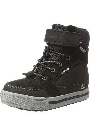 Viking Unisex barn Zing Gtx hög sneaker, grå33 EU