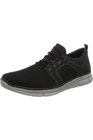 Rieker Herr B6188 sneaker, Navy pecifik marinblå 15-45 EU