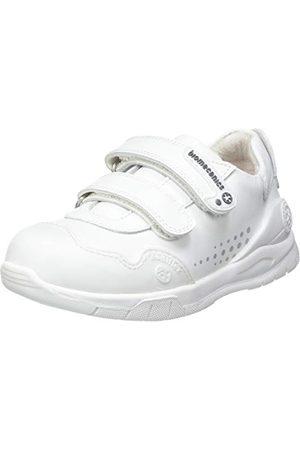 Biomecanics Unisex barn 182195 sneakers, Vit28 EU Schmal