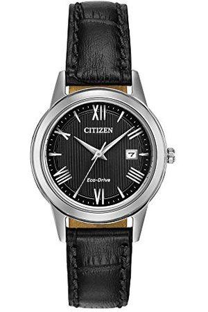 Citizen Damer analog kvarts klocka med läder armband FE1081-08E