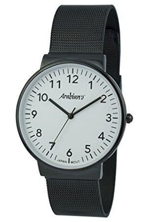 ARABIANS Analoga kvartsklocka för män med rostfritt stålrem HNA2235WB