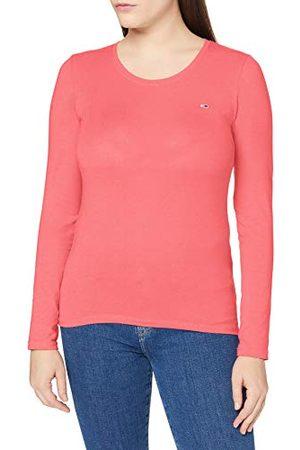 Tommy Hilfiger Kvinnors Tjw stretch jersey scoop neck t-shirt