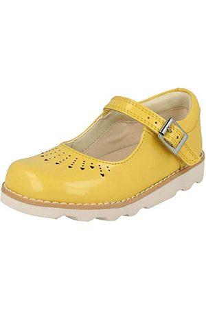 Clarks Children's Clarks barns flickor krona hopp barn loafers, gUL2.5 UK