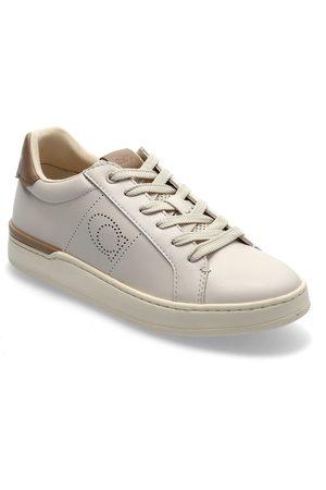 Coach Lowline Lowline Womens Shoes Låga Sneakers Beige