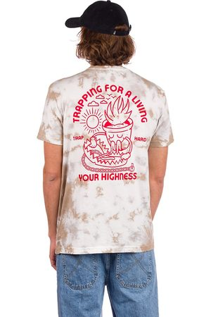Your Highness Trap Hard T-Shirt white tie dye