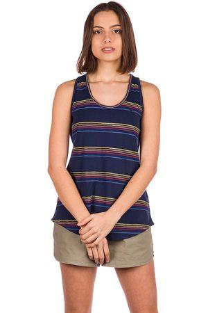 Kazane Kvinna Tanktoppar - Viveca Tank Top dress blue/stripe