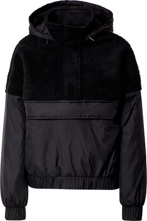 Urban classics Övergångsjacka 'Ladies Sherpa Mix Pull Over Jacket