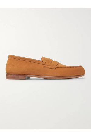 J.M. Weston Man Loafers - 281 Le Moc Suede Loafers