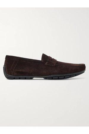 J.M. Weston Ajaccio Suede Driving Shoes