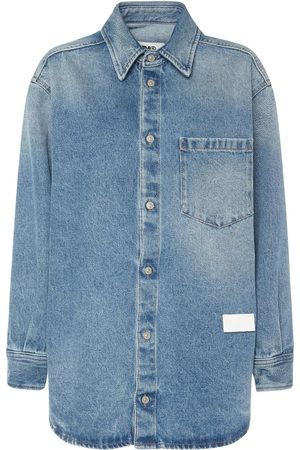 MM6 MAISON MARGIELA Vintage Cotton Denim Shirt
