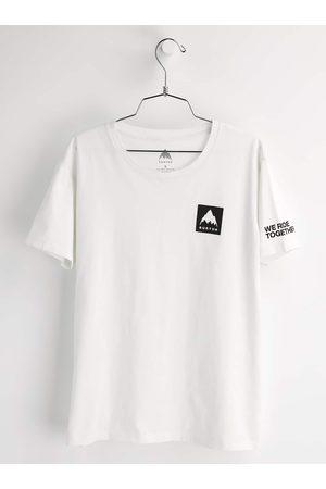 Burton Kvinna Kortärmade - Mountain Mark kortärmad t-shirt för damer