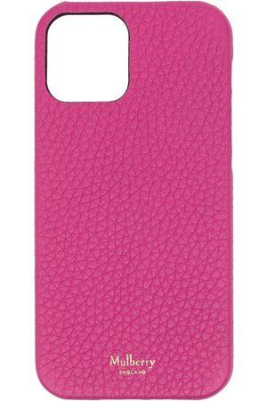 MULBERRY IPhone 12-skal i kornigt läder