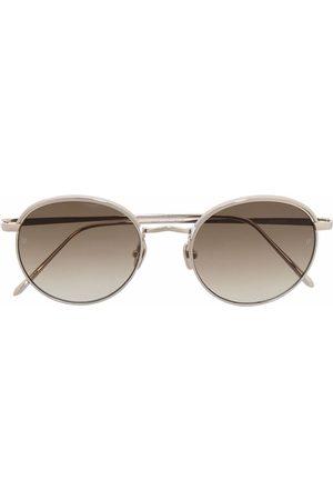 Linda Farrow Tonade runda solglasögon