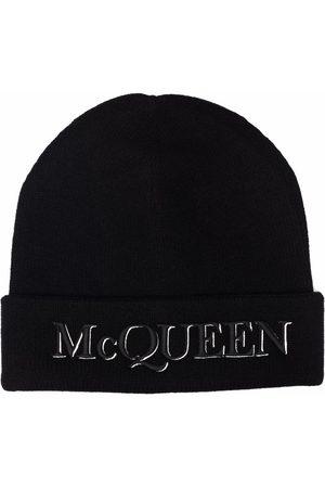 Alexander McQueen Man Mössor - Mössa med broderad logotyp