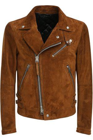 Tom Ford Man Skinnjackor - Suede Biker Jacket