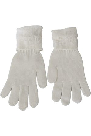 Costume National Wool Knitted Wrist Length Gloves