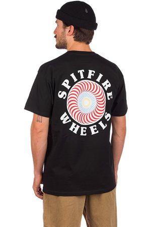 Spitfire OG Classic Fill T-Shirt black w/multi colored pri