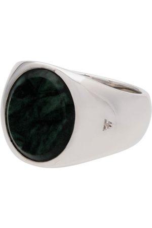 Tom Wood Man Ringar - Ring i sterling med oval pärla
