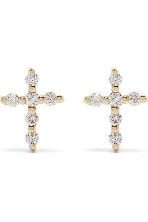 DJULA Man Örhängen - Diamantörhängen i 18 K gult