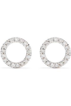DJULA Diamantörhängen i 18 K gult