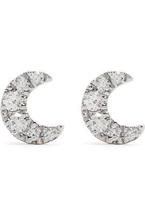 Djula Man Örhängen - Diamantörhängen i 18K roséguld