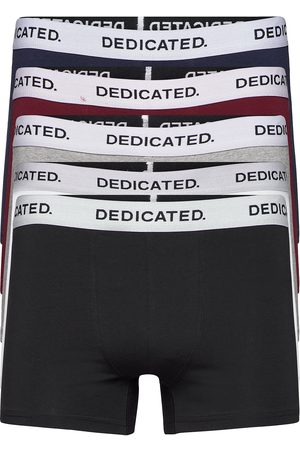 Dedicated Boxer Briefs Kalix Base 5-Pack Boxerkalsonger Svart