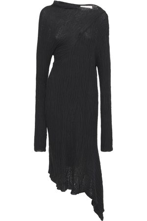 MARQUES'ALMEIDA Kvinna Stickade klänningar - Draped Cotton Knit Midi Dress