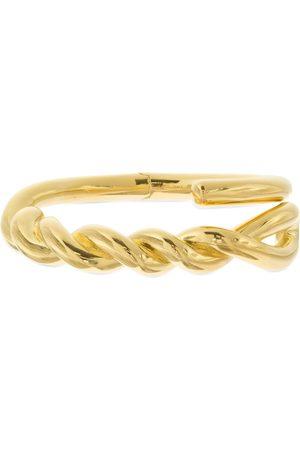 Bottega Veneta Twisted Rigid Bracelet