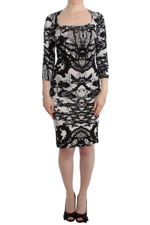 Roberto Cavalli Kvinna Fodralklänningar - Printed Sheath Dress